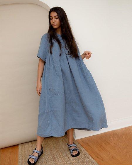 Atelier Delphine Lihue Dress - Steel Blue