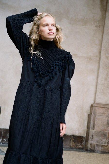 Sea NY Cindy L/S Dress - Black