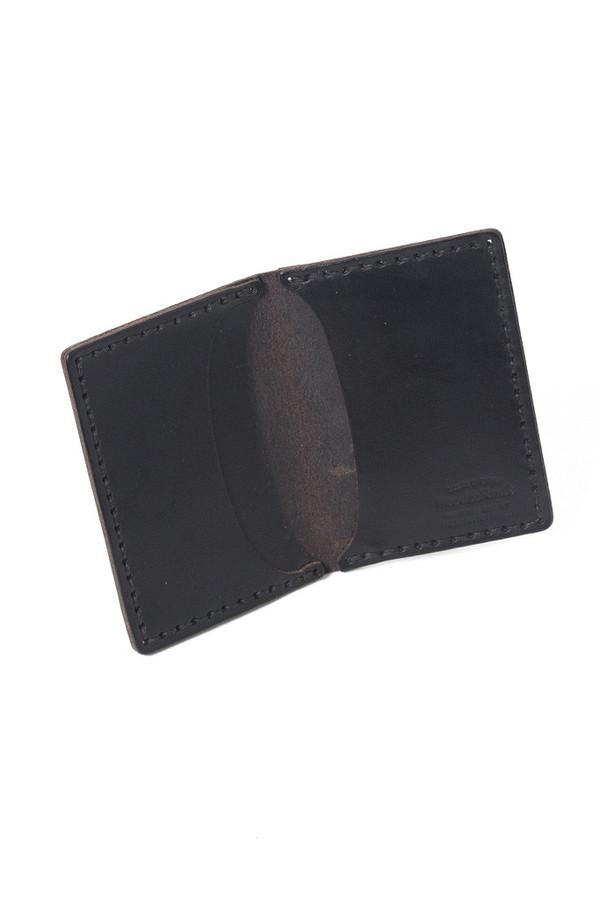 Wood&Faulk Front Pocket Wallet Black