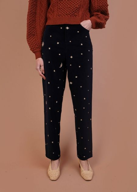 Meadows Cassia Trousers - Navy