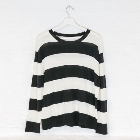 little high, little low NIRVANA sweater - bleach