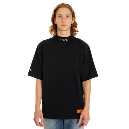 HERON PRESTON Turtleneck t-shirt - black