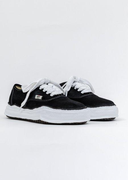 Mihara Yasuhiro Original Sole Sneaker - Black Ponyskin