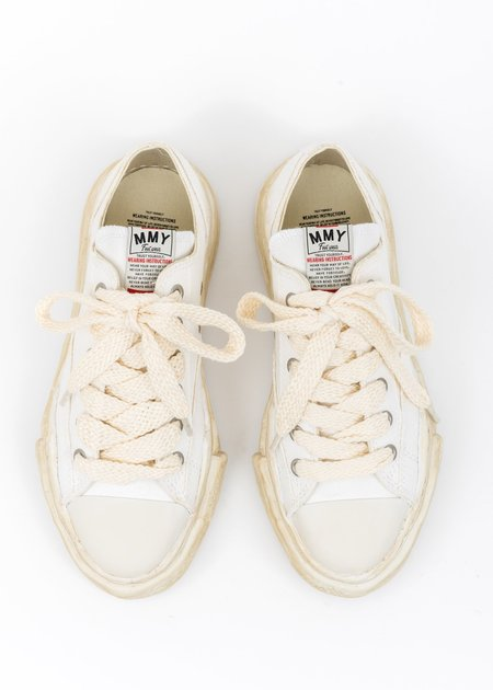 Mihara Yasuhiro Original Sole Overdyed Lowcut Sneaker - White