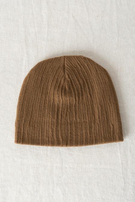 Micaela Greg Crinkle Hat In Burnt Sienna