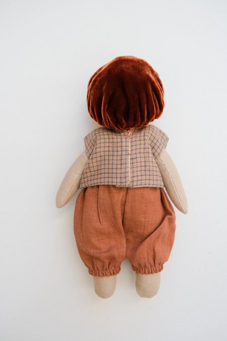 Lamb Ears and Roots Mushroom Doll - Mulberry