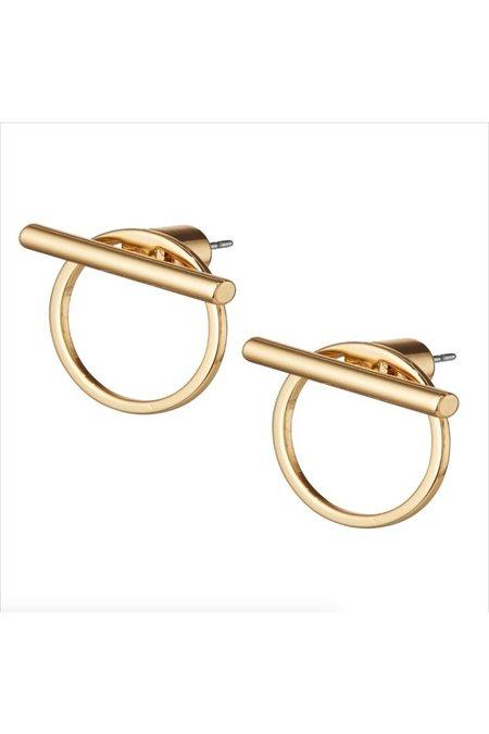 Jenny Bird Rhye Jackets EARRINGS - Gold