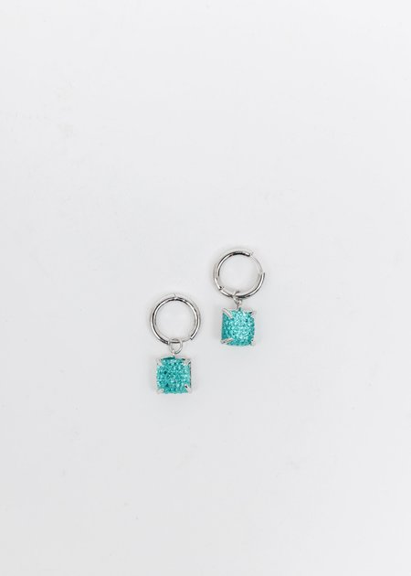 DEPARTMENT Candy Earring - White Gold/Blue