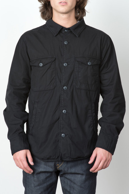 Save Khaki Fleece Lined Jacket In Black