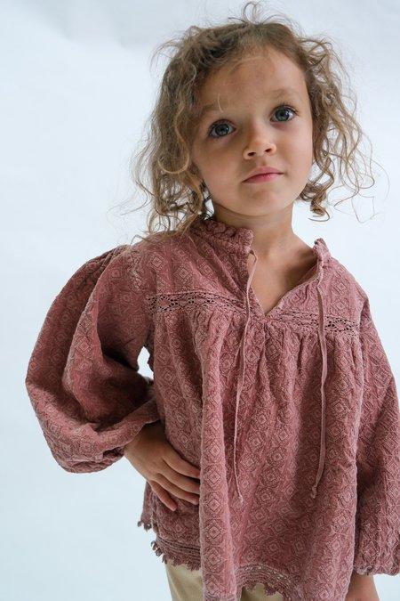 Kids Bebe Organic Matilda Blouse - Rose