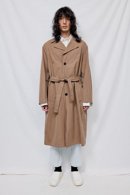 Blossom H Company Dries Cotton Trench - brown