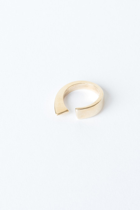 Fay Andrada Isku Ring In Brass