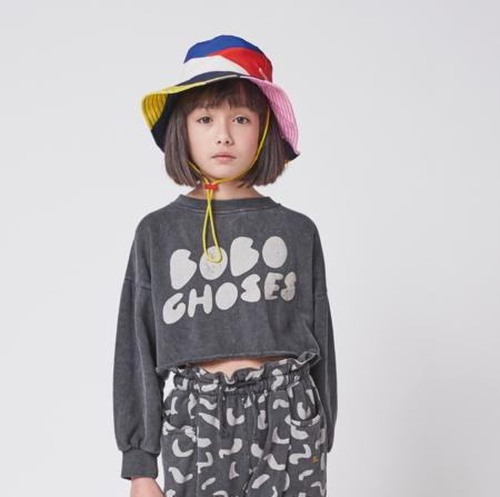 kids Bobo Choses Cropped Sweatshirt - December Sky