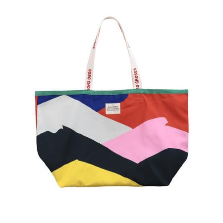 kids bobo choses print large shopping bag - multicolor