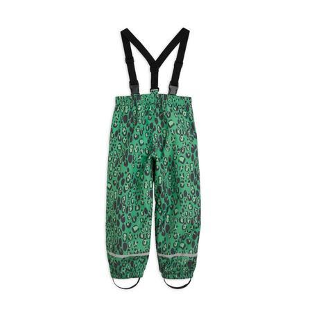 kids mini rodini edelweiss trousers - green
