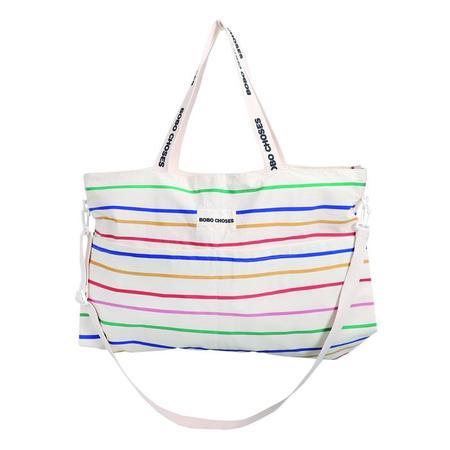 kids Bobo Choses Stripes Changing Bag - Multicolour