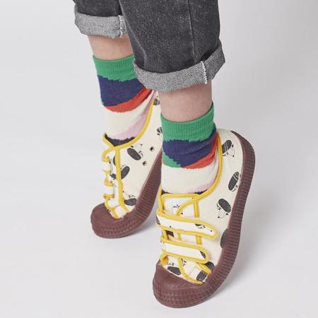 kids Bobo Choses All Over Scratch Print Sneakers - Multicolour