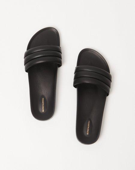 Beatrice Valenzuela Men's Monocolor Sandalia - Black