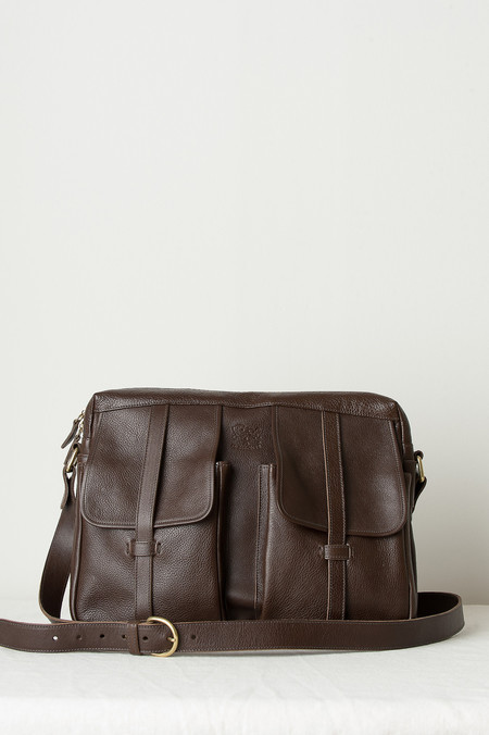 Il Bisonte Madison Bag In Brown