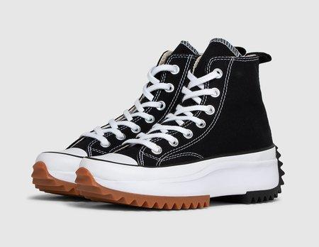 Converse Run Star Hike Black / White - Gum