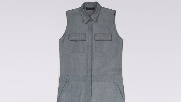 Wildfang The BLKLBL.01 Coveralls (Denim)