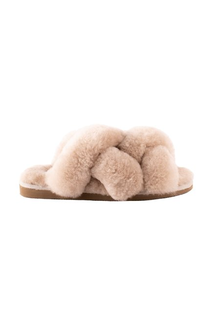 Shepherd of Sweden Gabriella slippers - Honey