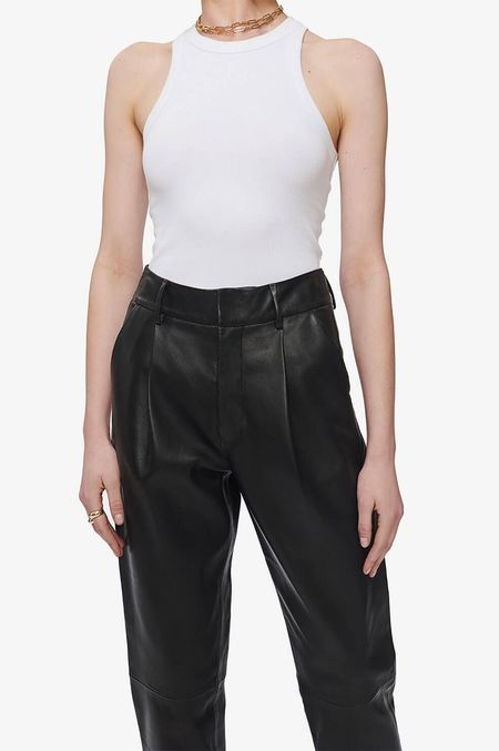 Anine Bing Becky Leather Trouser