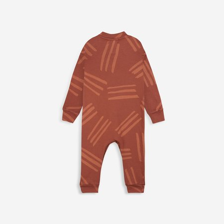 Kids Bobo Choses Scratch Baby Overalls - Spice