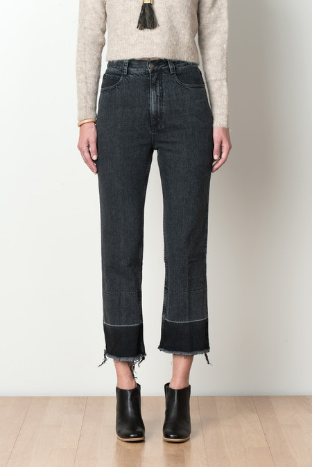 Rachel Comey Slim Legion Pant In Washed Black