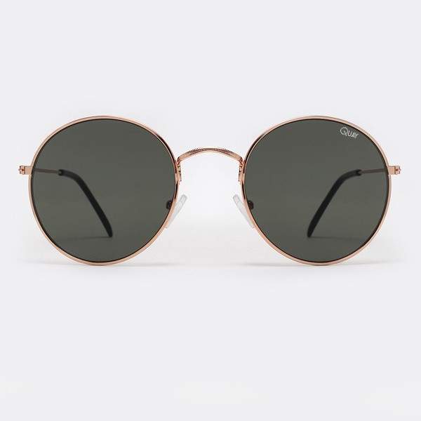 Quay Mod Star Sunnies - Gold