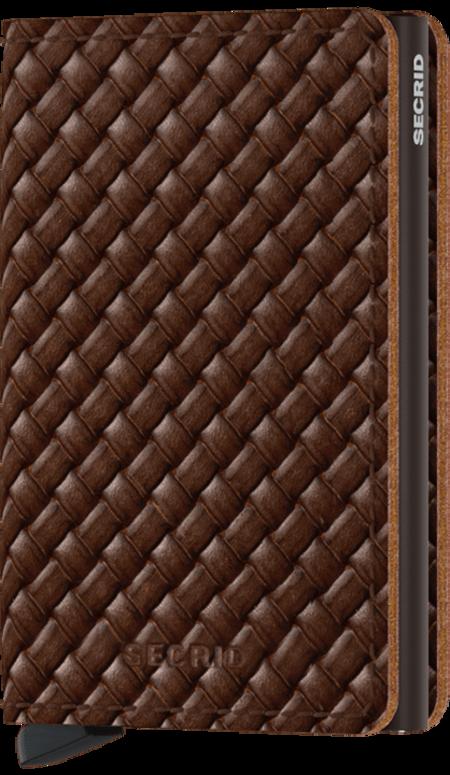 SECRID Slim Wallet - Basket Brown