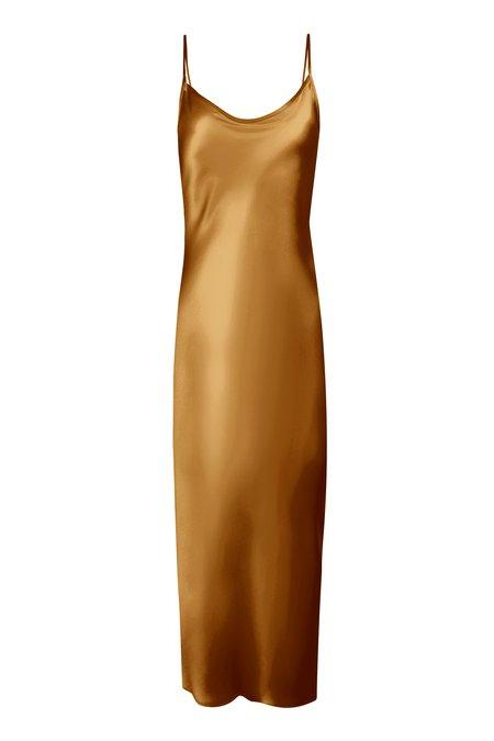 KES Minimal Slip Dress - Camel
