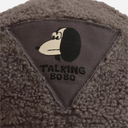 Bobo Choses Doggie Sheepskin Cap - Dark Slate