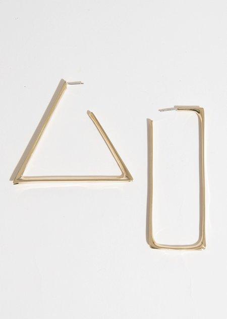 FARIS Shape Hoops - Bronze