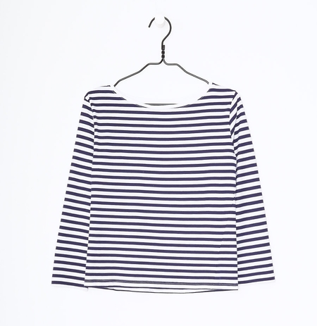Kowtow Striped Boat Neck Top
