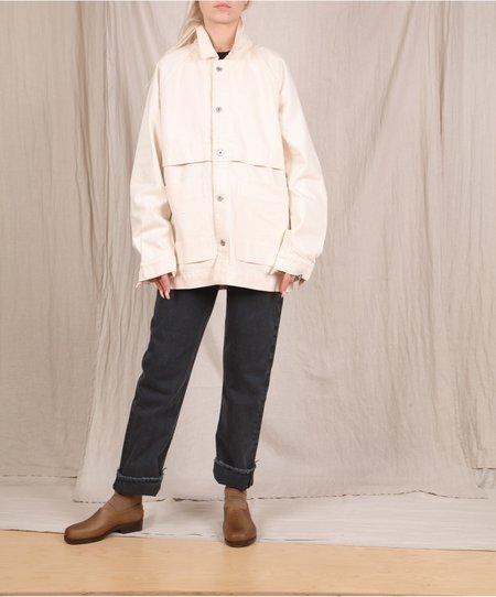 Kowtow Everyday Jacket - Greige Denim