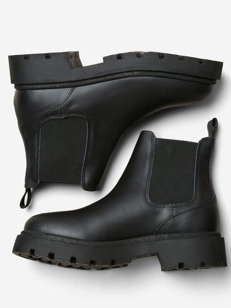 Selected Femme Emma Chelsea Boots - Black