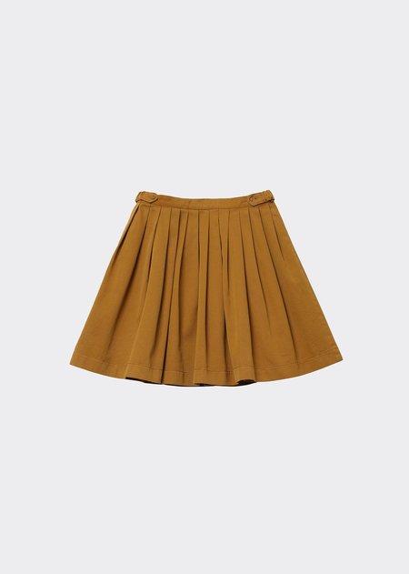 Kids Caramel Bail Skirt - Mustard Twill