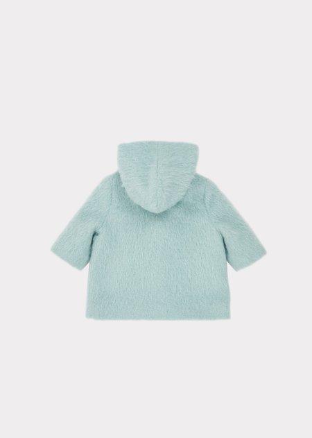 Kids Caramel Goshi Baby Hoodie - Ice Blue