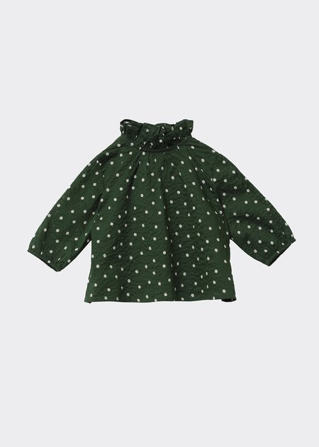 Kids Caramel Miron Baby Blouse - Evergreen Spot