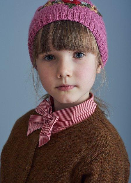 Kids Caramel Rosa Cardigan - Bracken