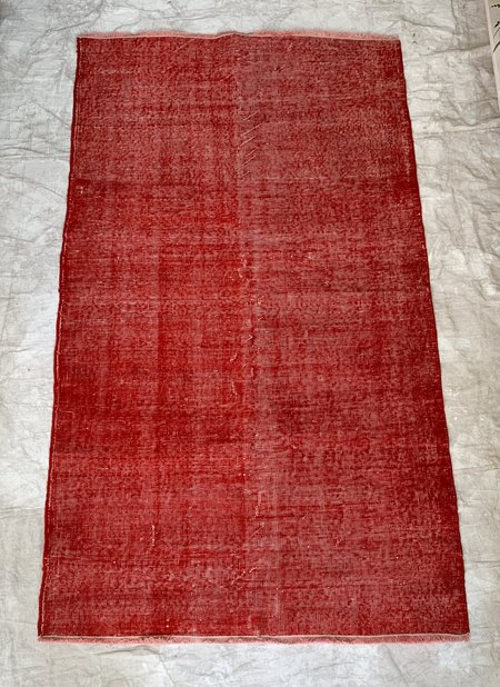 . Cuttalossa & Co.   Over Dyed Area Rug - Red