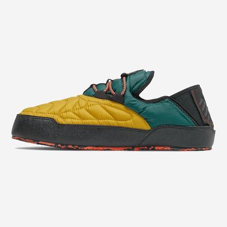 New Balance Caravan Moc Slippers Shoes - Harvest Gold/Mountain Teal/Black
