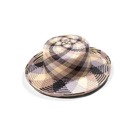 Clyde Saturna Hat - Purple/Grey Plaid