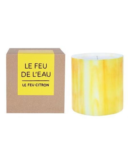 Le Feu De L'Eau CITRON candle - Citrus/Bergamot