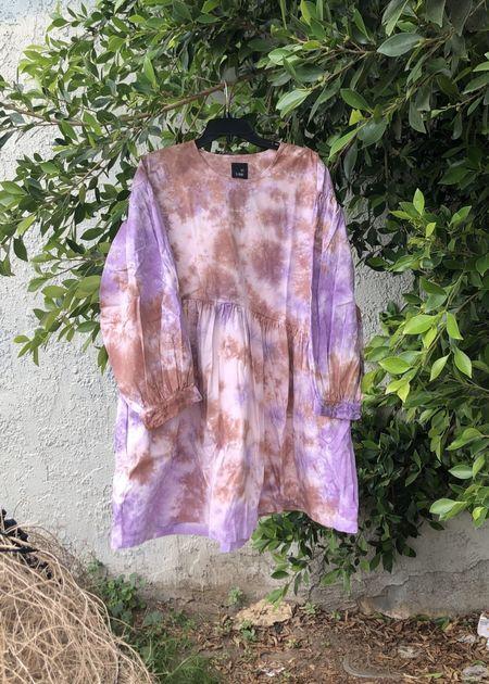 Et Tigre Jayme Short dress - Tie Dye