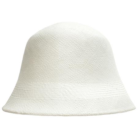 Y's White Toquilla Hat
