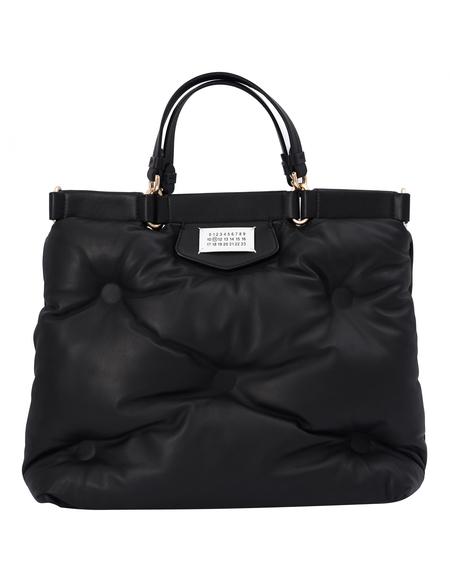Maison Margiela Glam Slam Shopping Bag In Black