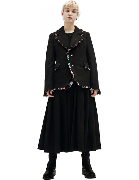 Comme des Garcons Ruffle Trimmed Padded Jacket