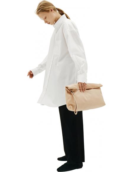 Maison Margiela White Cotton Shirt With Pocket